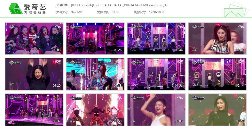 ITZY - 19/02/14 달라달라 (DALLA DALLA) Mnet M!Countdown 出道舞台 打歌舞台 Live