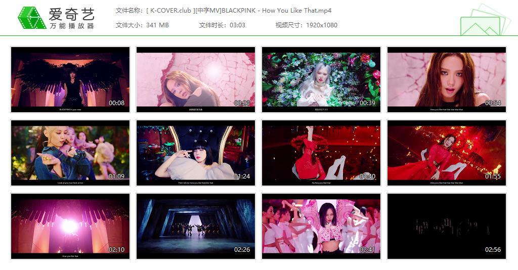 BLACKPINK - How You Like That 中文字幕 MV