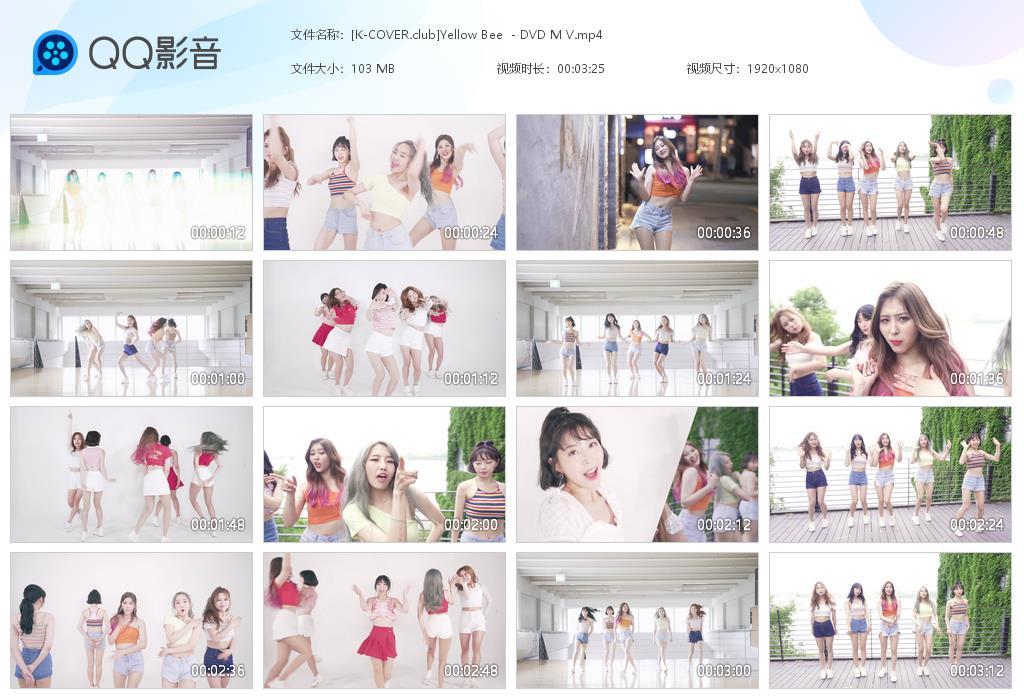 Yellow Bee - DVD 1080p MV